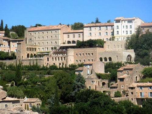Mountain Village Near Avignon