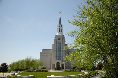 Boston Mass. Temple