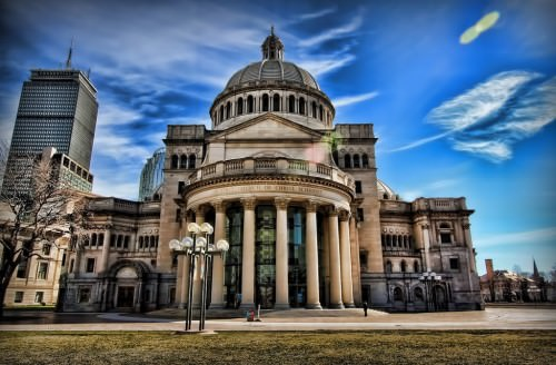 Boston - The First Church of Christ. Scientist