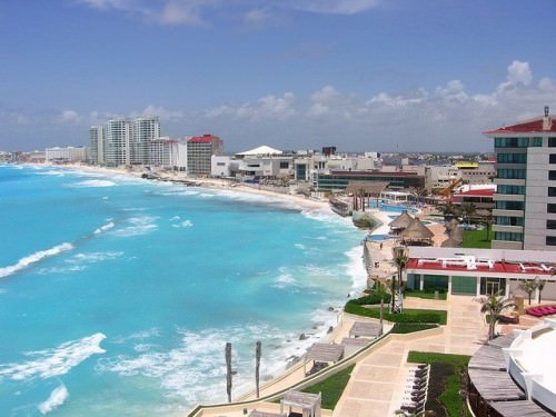Vista de Cancun