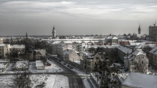 Dessau im Winter
