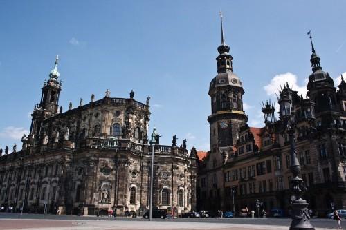 Dresden mit Frauenkirche
