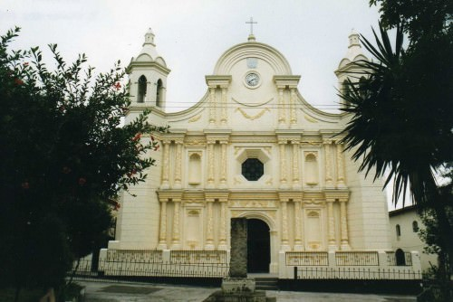 Church in Santa Rosa de Copan