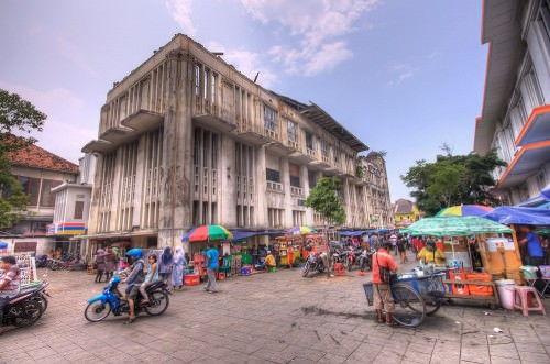 Old Dutch building in Jakarta