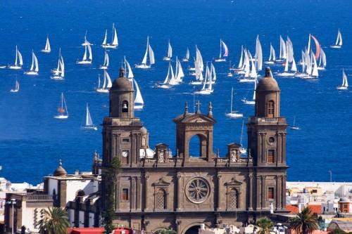 Fotos de la salida de la XXVI edición de la Regata ARC 2011 Las Palmas G.C.