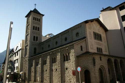 Sant Pere Màrtir, Escaldes-Engordany. Andorra