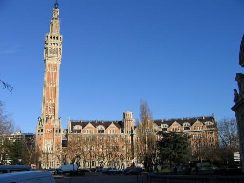 beffroi de la mairie de Lille