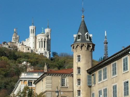 La basilique de Fourviere, Lyon
