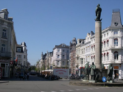 Maastricht zwischen Bahnhof und Innenstadt