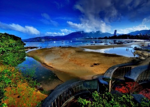 Patong Beach in HDR – Phuket