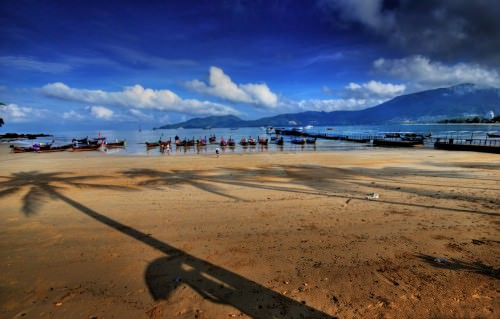 Jetty at Patong Beach, Phuket
