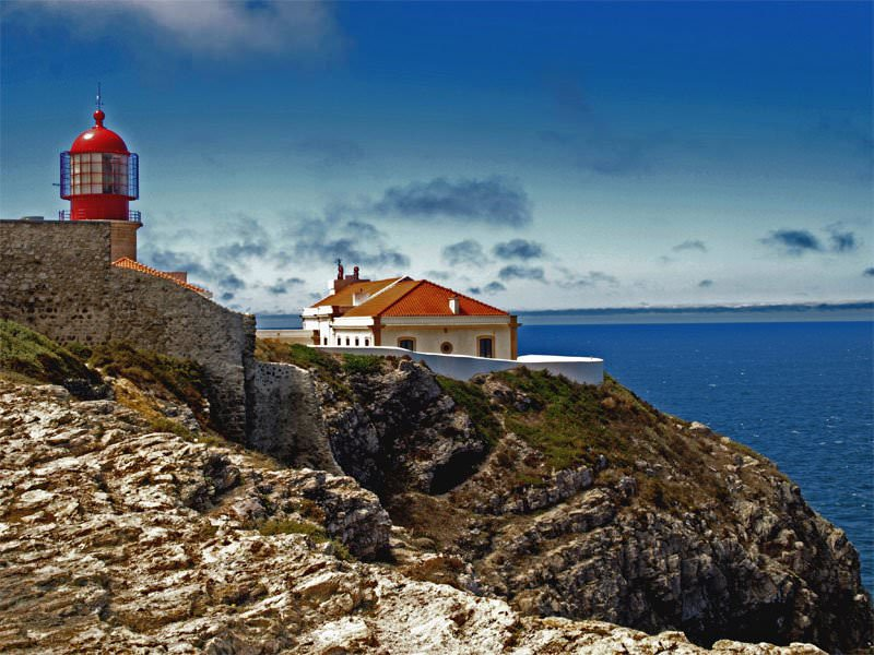 Algarve pictures photo gallery of algarve high quality collection - Cabo san vicente portugal ...