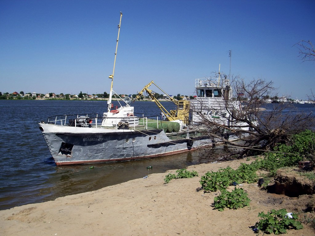 Astrakhan fishing. Where we lived and what we ate