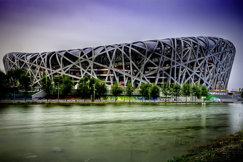 Beijing National Stadium Birds Nest China Wallpaper WallpapersByte