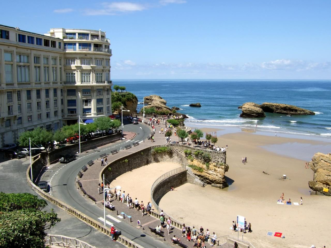 Car Rental Biarritz Town