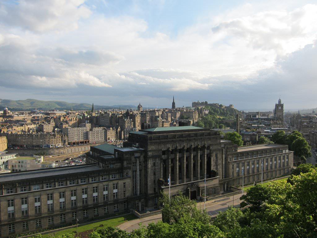 Обои scotland, эдинбург, утро, Шотландия, edinburgh. Города foto 17
