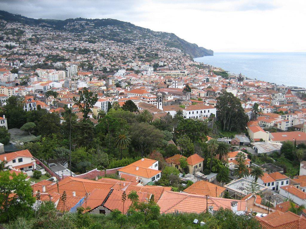 Funchal Hauptstadt, Madeira Insel