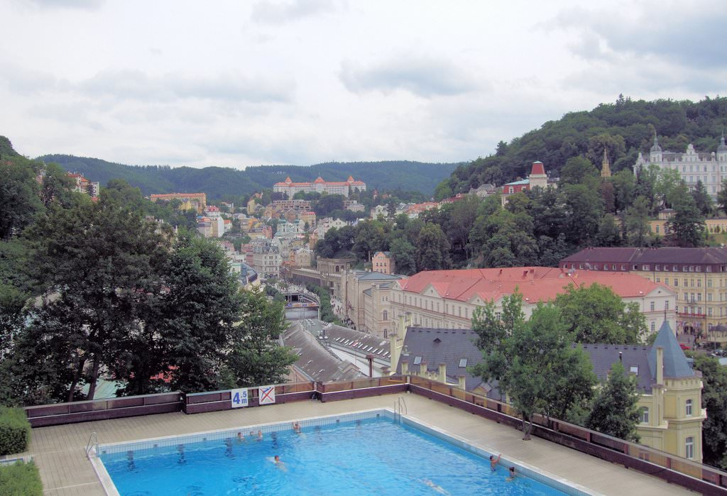 in Karlovy Vary pikkelysömör kezelésében)
