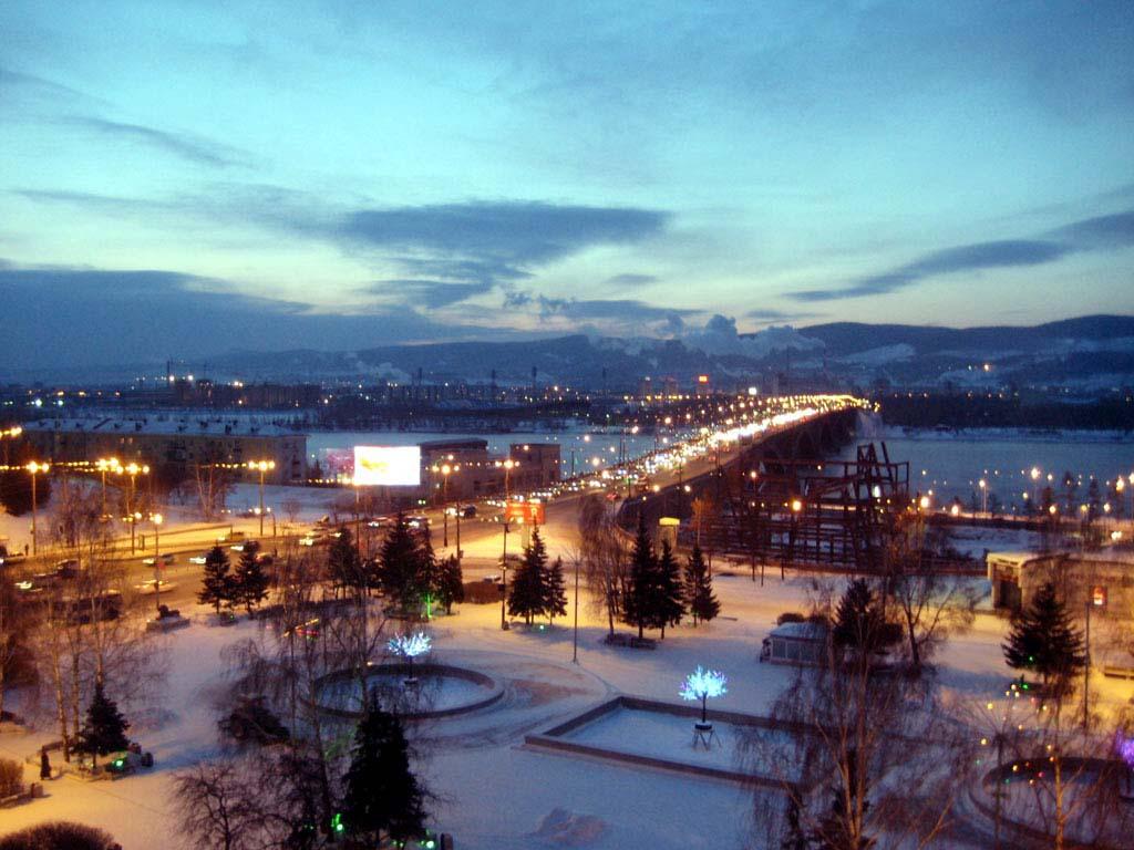 How to get to Krasnoyarsk
