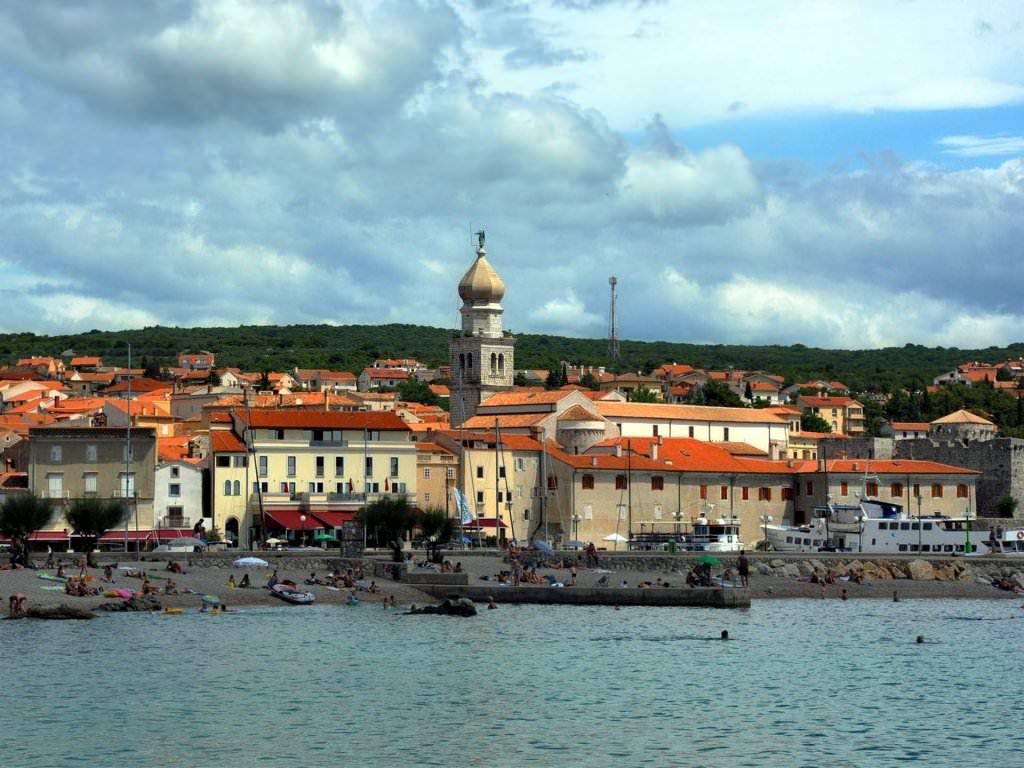 Krk Adası, Hırvatistan: özellikleri ve cazibe merkezleri