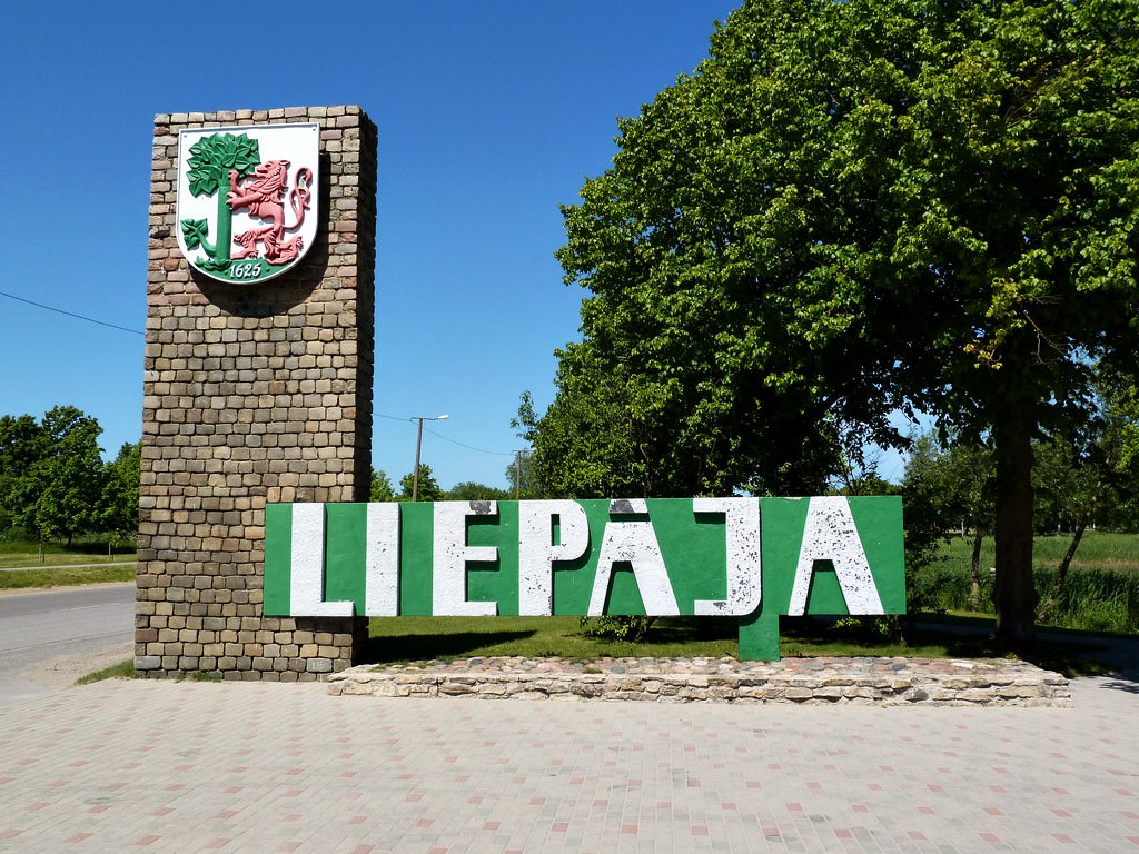 Large Liepaja Maps for Free Download and Print HighResolution and