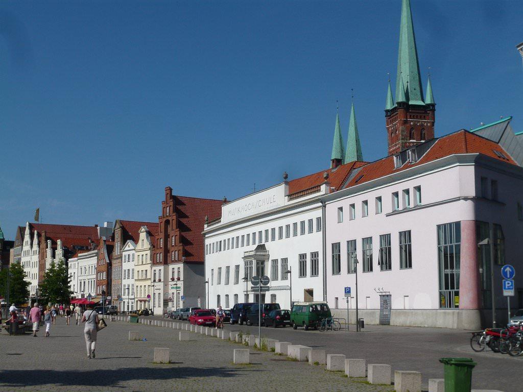 Обои любек, германия, здания, дома. Города foto 16