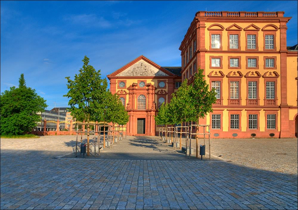 Large Mannheim Maps for Free Download and Print | High