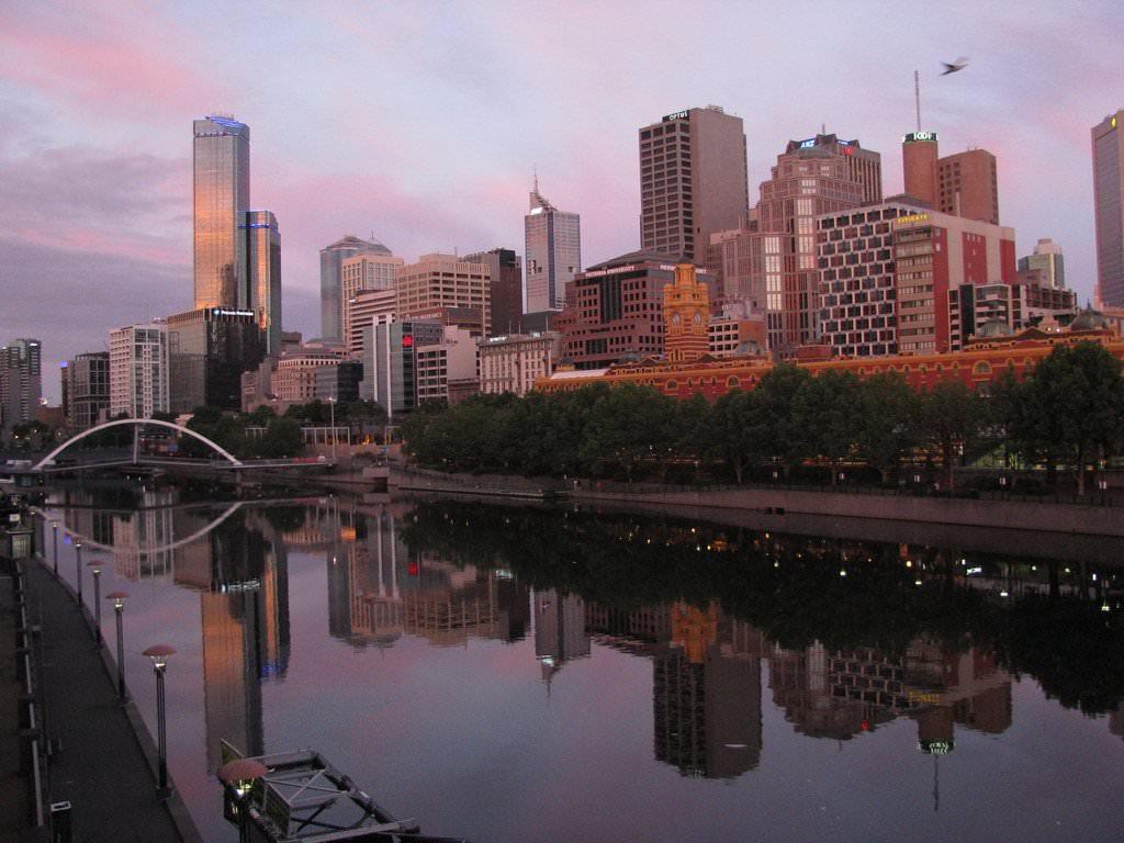 Обои melbourne, downtown, мельбурн, Australia, ночь, австралия. Города foto 18