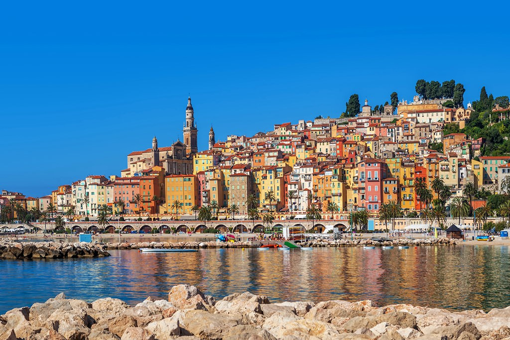 Menton Pictures Photo Gallery Of Menton High Quality