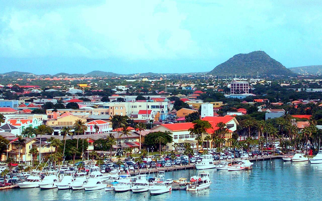 Aruba Maps Printable Maps of Aruba for Download