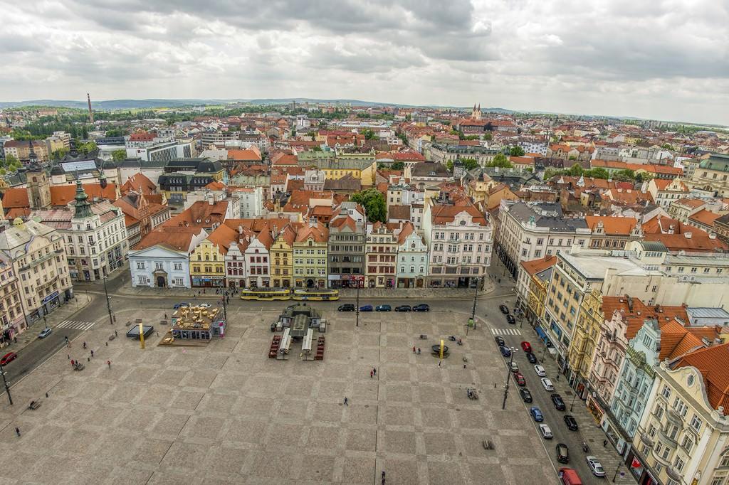 Город Пльзень, Чехия — главные достопримечательности
