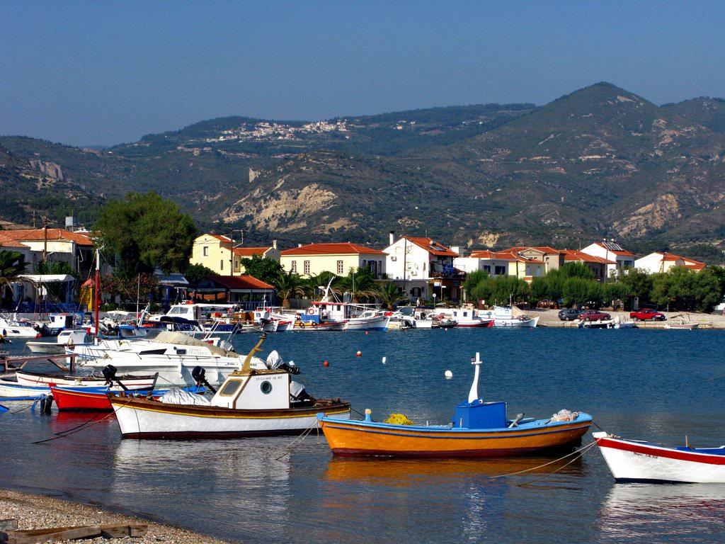 Samos Island Greece Weather