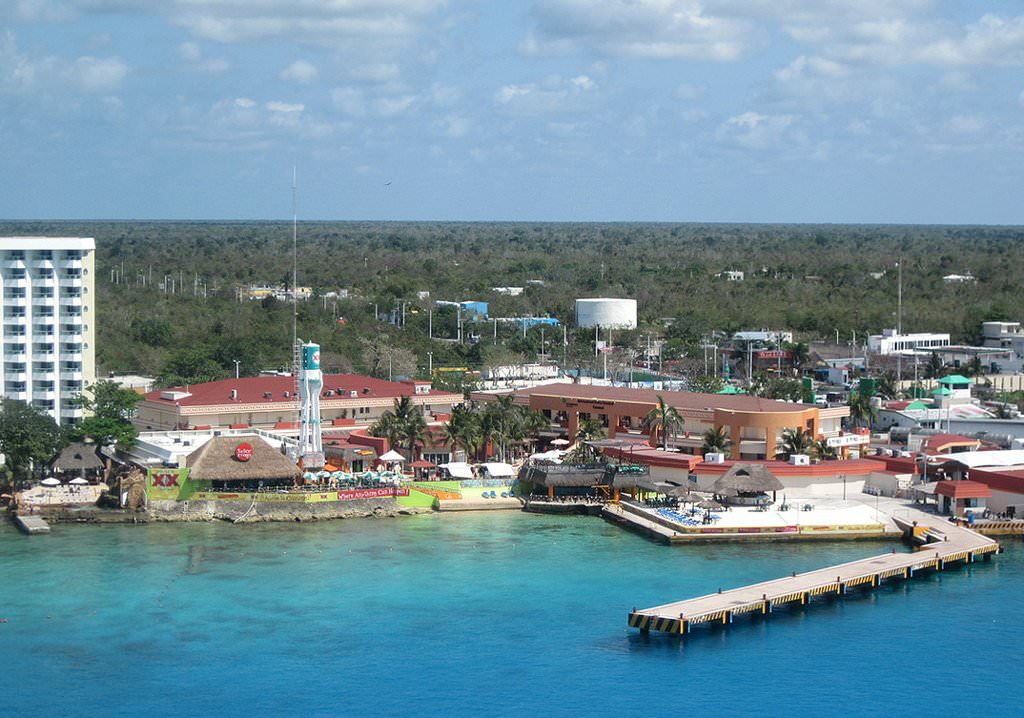 Large Cozumel Maps for Free Download and Print HighResolution and