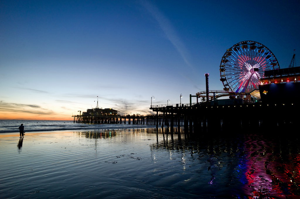 Santa Monica Pictures Photo Gallery Of Santa Monica High Quality