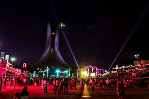 Algiers : FISE 2015, by night