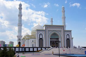New Mosque Near Our House in Astana