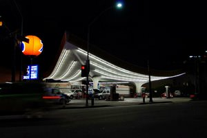 Beverly Hills 76 Station- Gin Wong, Pereira Associates, Architect 1965