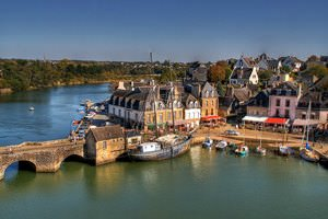 Auray - France | Saint Goustan - Port dAuray