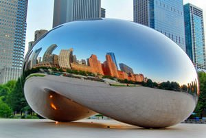 Cloud Gate at Dawn