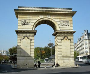 Porte Guillaume, Place Darcy Dijon