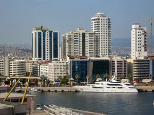 IZMIR, Turkey. Cruise onboard Costa Romantica