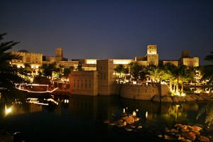 Madinat Jumeirah - night view