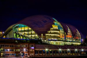 The Sage at Night - Newcastle Upon Tyne