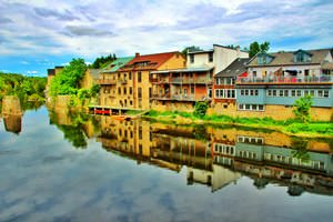 Elora Ontario ~ Canada  ~ Reflection