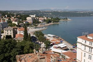 View from Hotel Astoria, Opatija