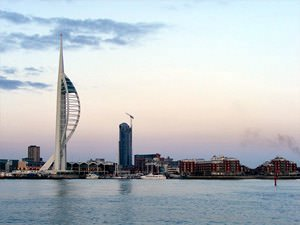 Spinnaker Tower Evening Shot