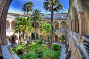University of Sassari - Administrative Seat - The Internal Garden