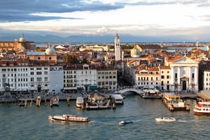 Venice, Italy, Afternoon Panorama