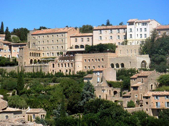 Mountain Village Near Avignon