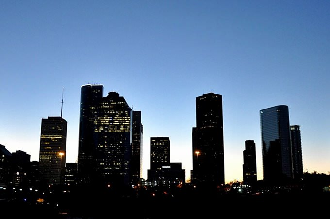 Predawn Houston